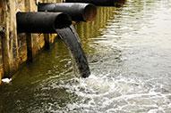 сброс загрязняющих веществ